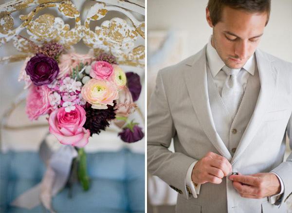 Erin & Chuck, una boda de inspiración vintage erin2