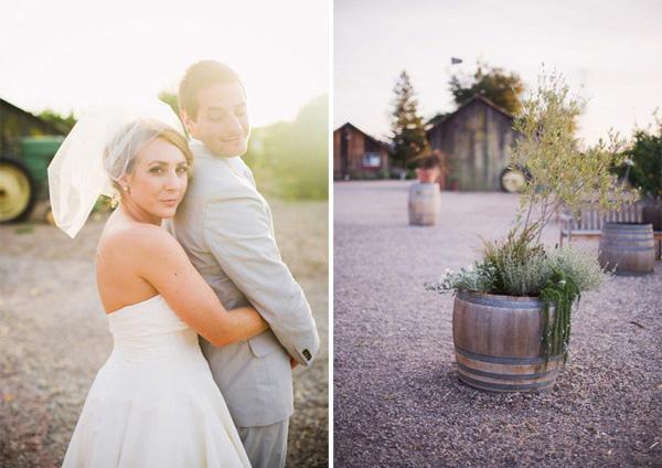 Erin & Chuck, una boda de inspiración vintage erin4