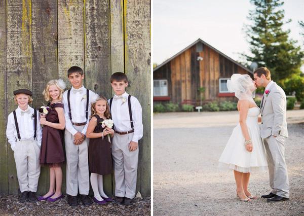 Erin & Chuck, una boda de inspiración vintage erin5