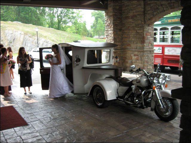 moto para bodas