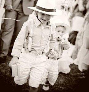 sombrero panamá niño