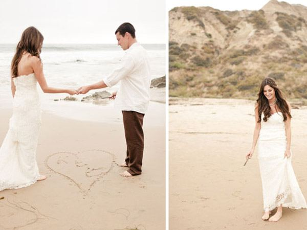 Katy & Chad: una boda rústica ¡en la playa! katy_y_chad_playa_8_600x450