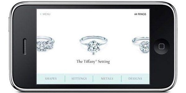 Las alianzas de Tiffany en tu iPhone tiffany_online_1_600x300