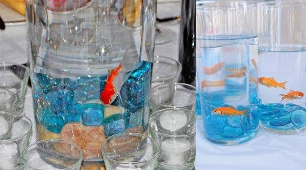 Peceras para bodas imagui for Peceras con peces