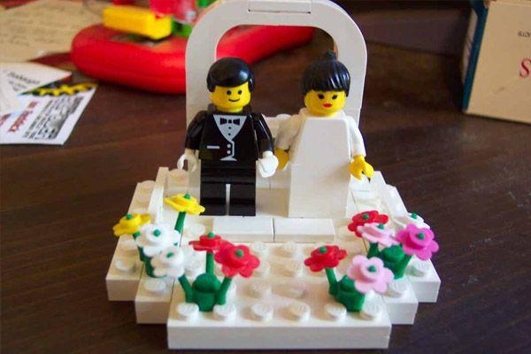 Figuras de Lego en tu pastel de boda lego_1_600x400