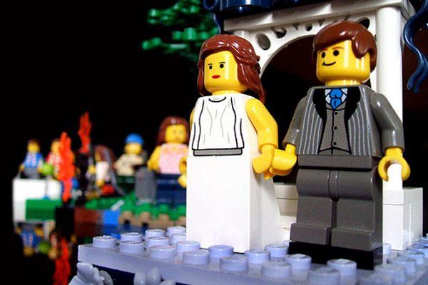 Figuras de Lego en tu pastel de boda lego_2_600x400