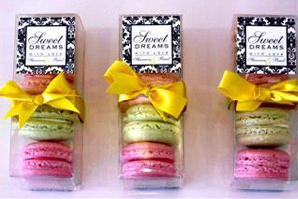 Macarons para recuerdos de tu boda 1