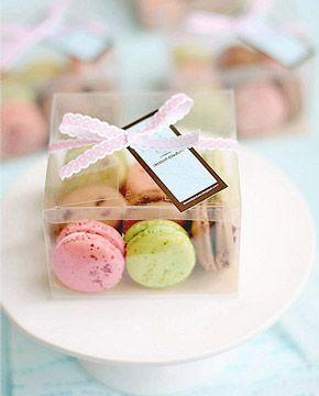 Macarons para recuerdos de tu boda 2
