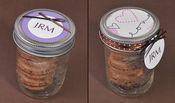 Macarons para recuerdos de tu boda 3