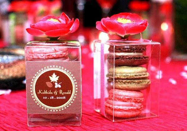 Macarons para recuerdos de tu boda 4
