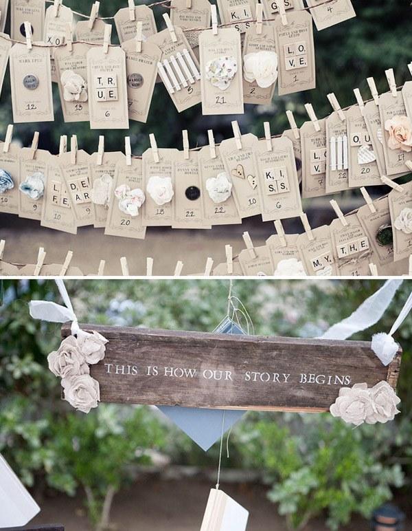 Decoración de boda rústica Boda Original decoracion rustica 5 600x772