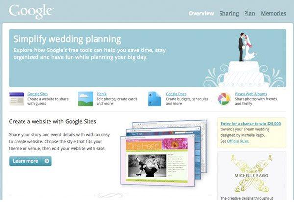 Planifica tu boda con ayuda de Google google_weddings_2_600x412