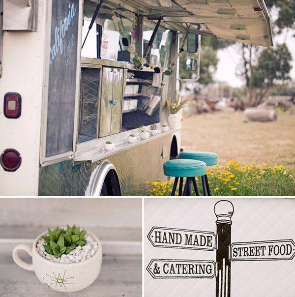 Una boda hippie en el campo caravana_comida_13_600x604