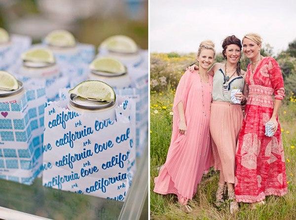Una boda hippie en el campo caravana_comida_4_600x446