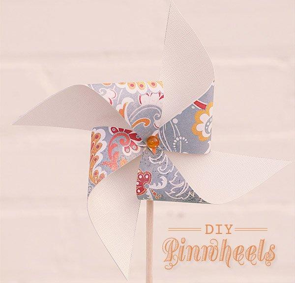 DIY: Molinillos de papel Boda Original molinillo 1 600x576