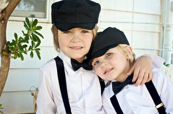 Damas de honor y pajes para una boda vintage pajes_vintage_3_600x398