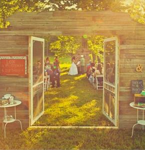 Decoraci n con puertas antiguas una boda original blog for Decoracion con puertas antiguas