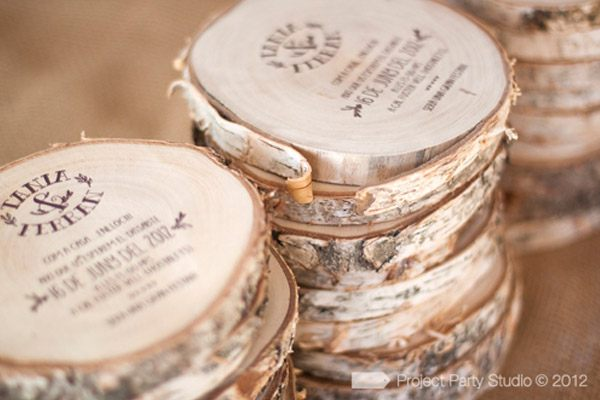 Invitaciones Para Matrimonio Rustico : Invitaciones y souvenir campestres