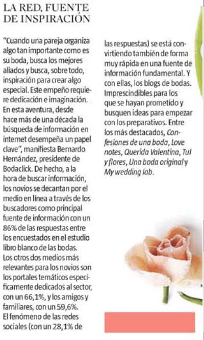 SALIMOS EN... 2013_03_magazine_lavanguardia