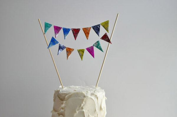 Diy: guirnalda cake topper guirnalda_caketopper_6_600x396
