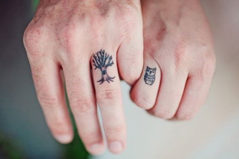 TATTOOS IN LOVE