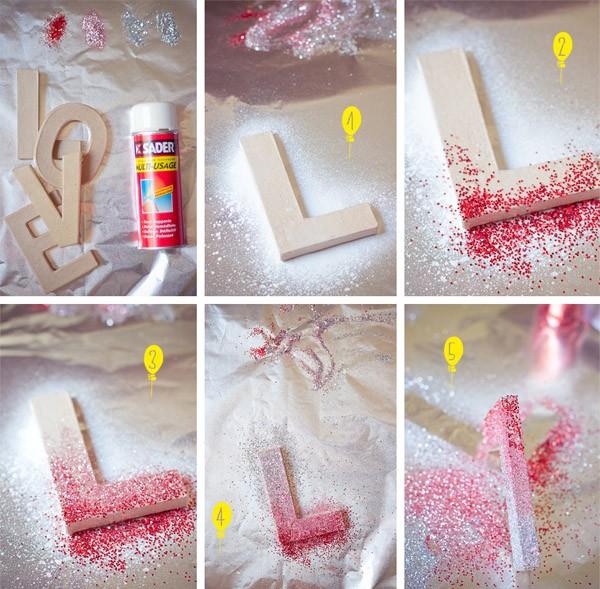 Diy: Glitter Love love_2_600x589