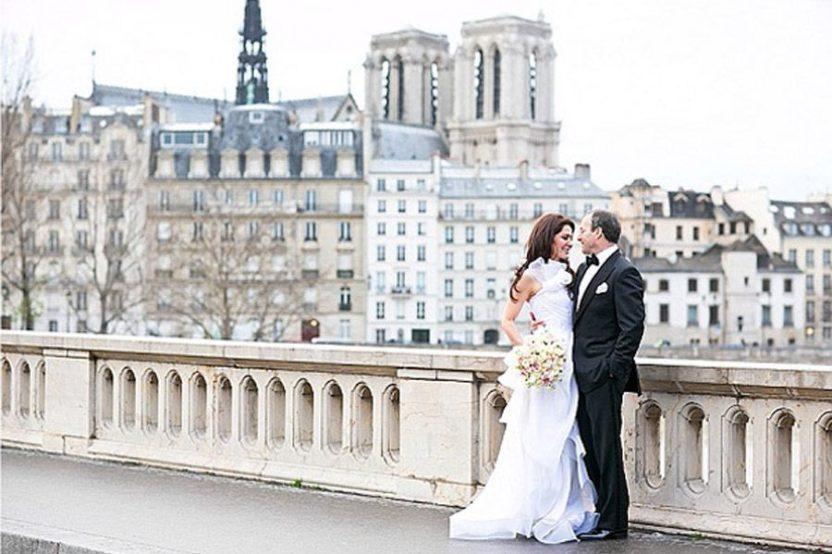 Mary & John: romántica boda en París