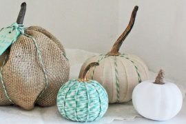 DIY: DECORACIÓN DE CALABAZAS