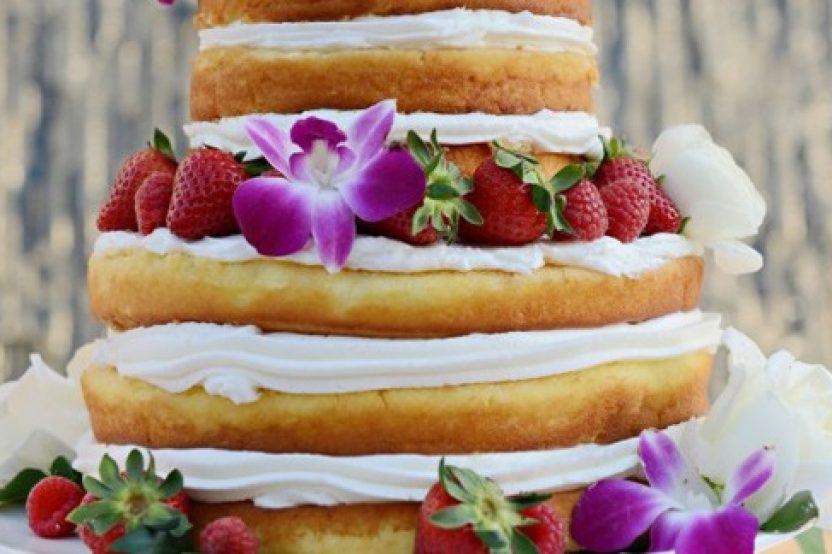 PASTEL A LA VISTA (NAKED CAKE)