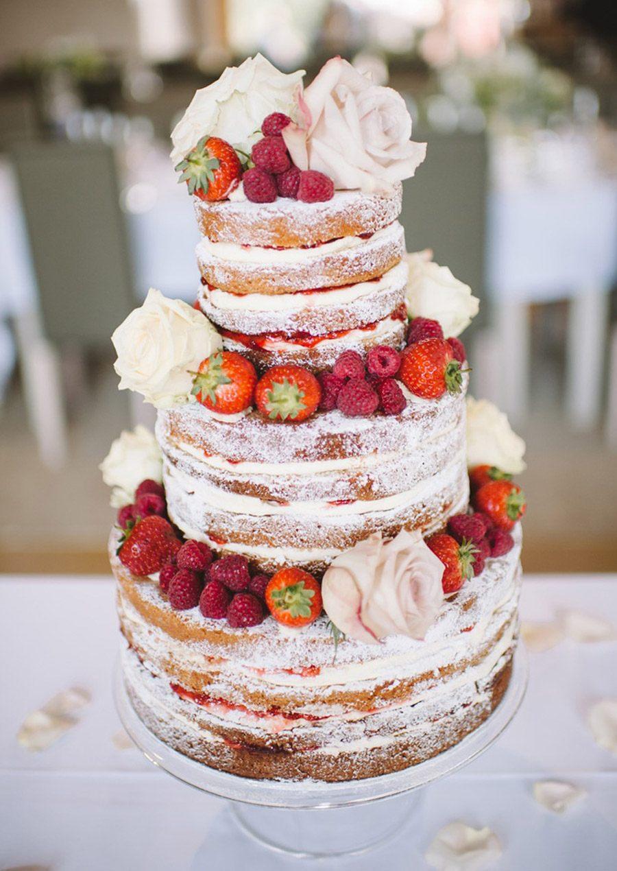 Tortas Para Matrimonio Rustico : Nude cakes una boda original de bodas e ideas