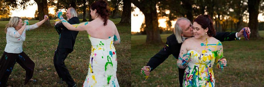 UN ORIGINAL E INESPERADO TRASH THE DRESS novia_pintura_6_900x298