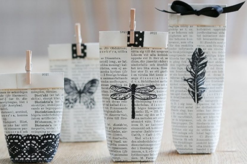DIY: BOLSITAS DE PAPEL DECORADAS