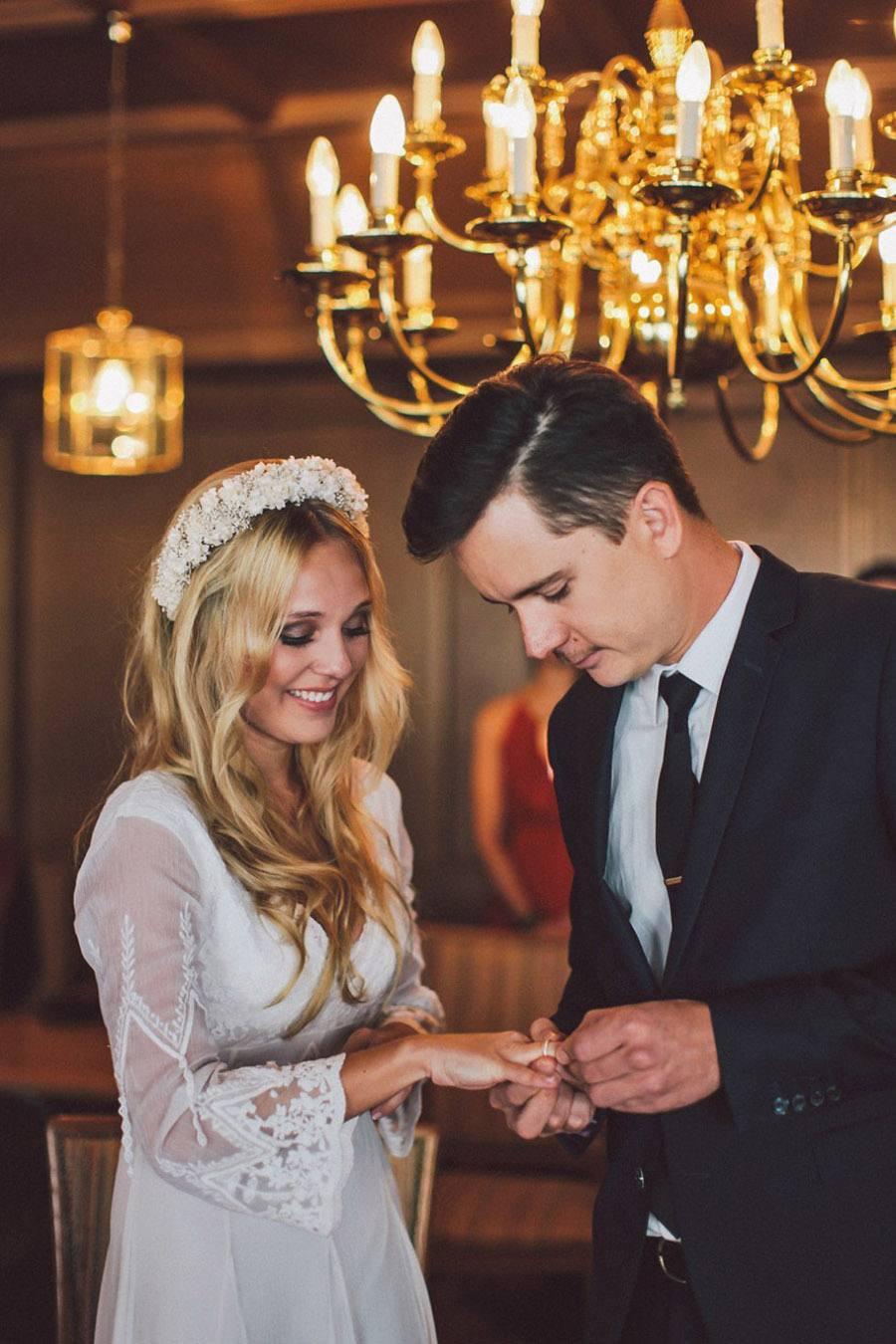 SARAH & IAN: BODA BOHEMIA EN LA NIEVE boda-bohemia-chic