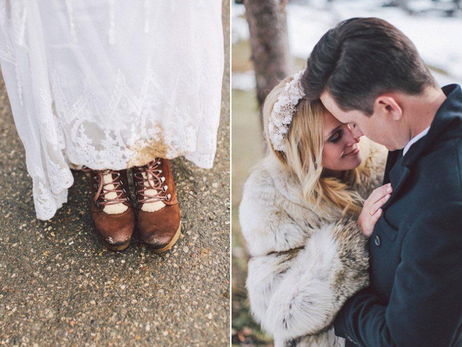 SARAH & IAN: BODA BOHEMIA EN LA NIEVE boda-bohemia-invierno
