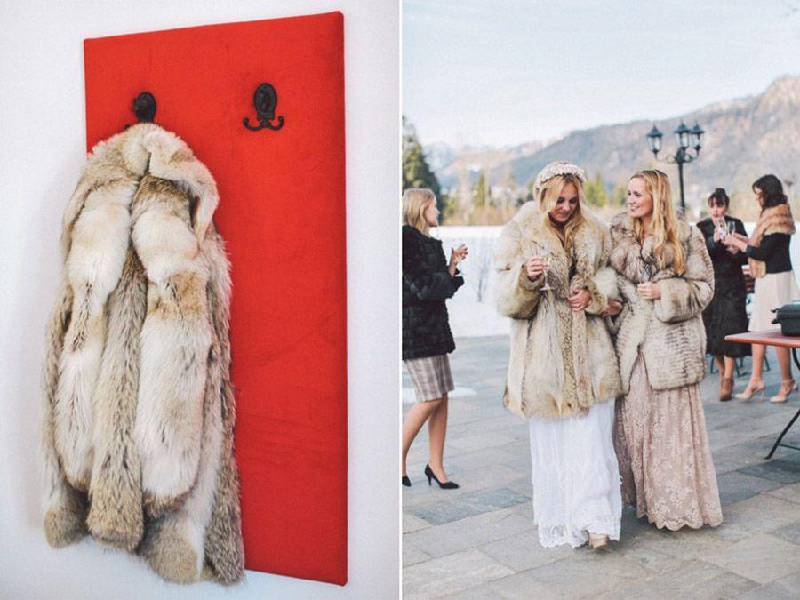 SARAH & IAN: BODA BOHEMIA EN LA NIEVE boda-boho-nieve
