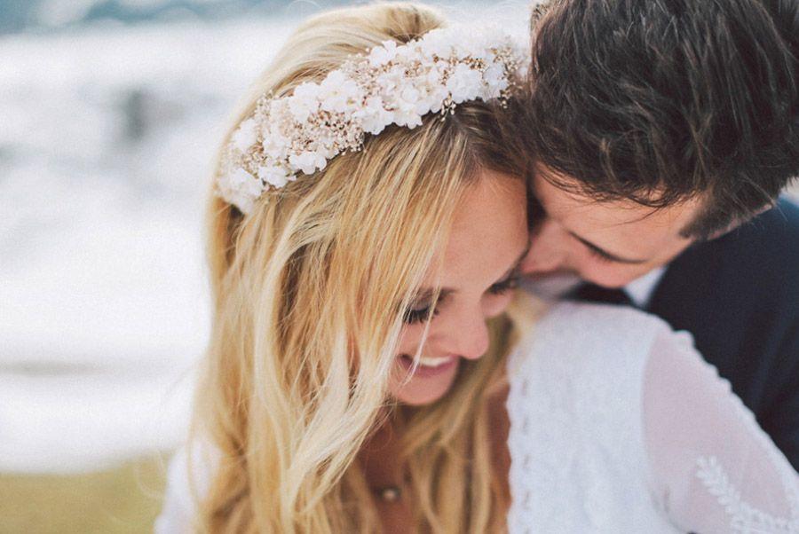 SARAH & IAN: BODA BOHEMIA EN LA NIEVE boda-boho