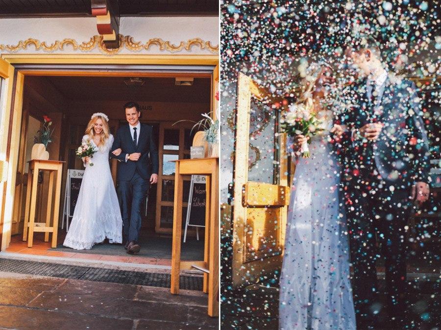SARAH & IAN: BODA BOHEMIA EN LA NIEVE novia-boho-nieve