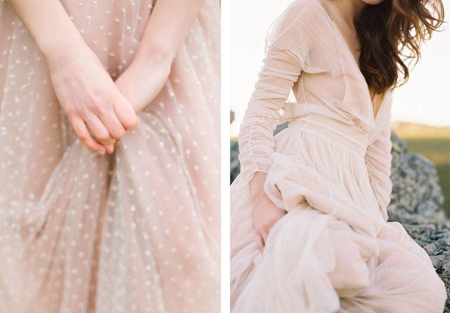 VESTIDOS DE NOVIA EN ROSA CUARZO vestido-de-novia-rosa