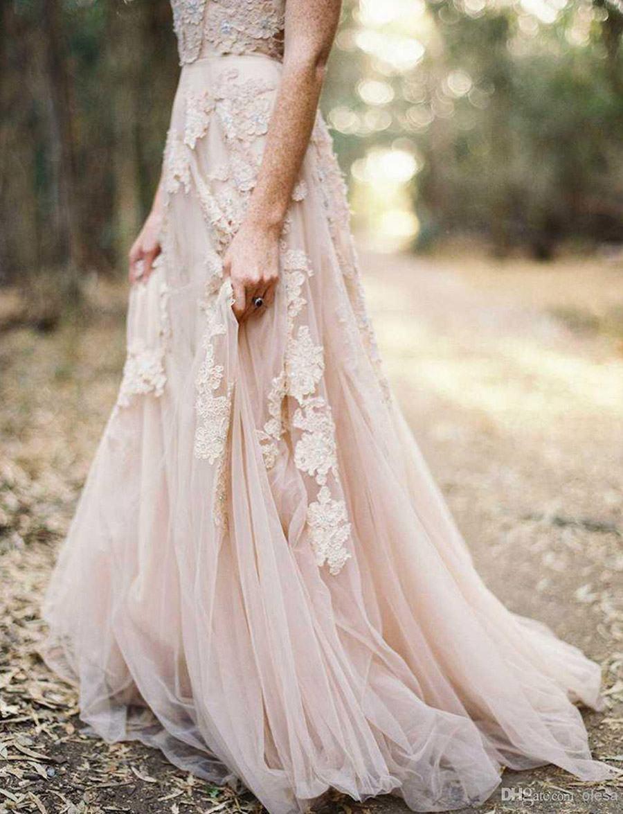 VESTIDOS DE NOVIA EN ROSA CUARZO vestido-de-novia