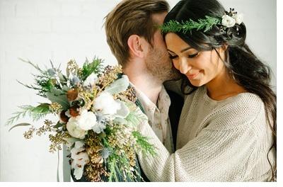 ROMÁNTICA PREBODA DE INVIERNO fotos-de-pareja
