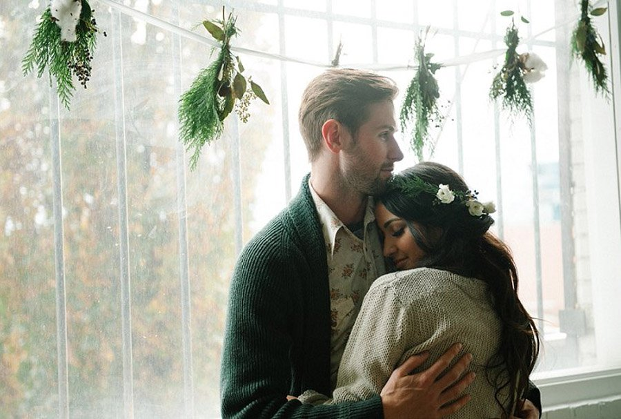ROMÁNTICA PREBODA DE INVIERNO fotos-pareja-invierno