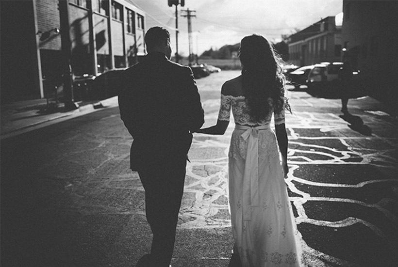 TANYA & RON: UNA BODA ROCKERA novios-boda-rockera