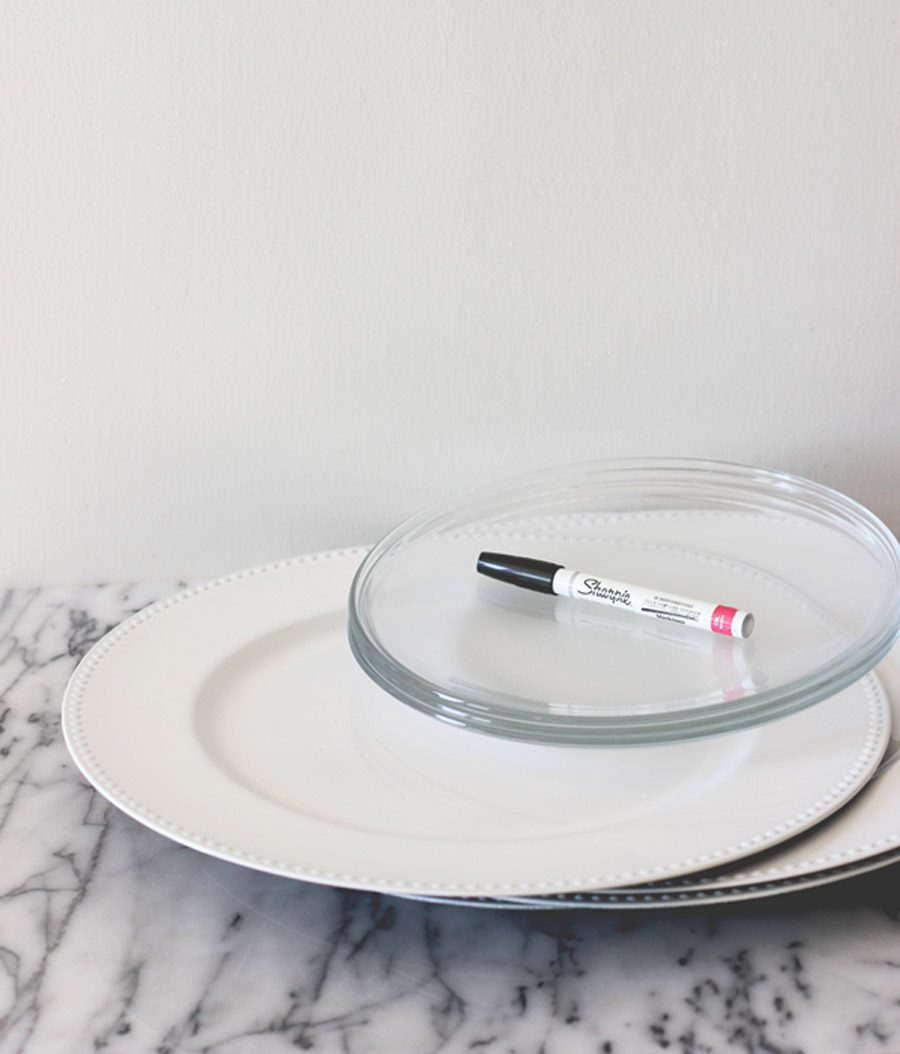 DIY: PLATOS PERSONALIZADOS PARA LOS INVITADOS platos-personalizados