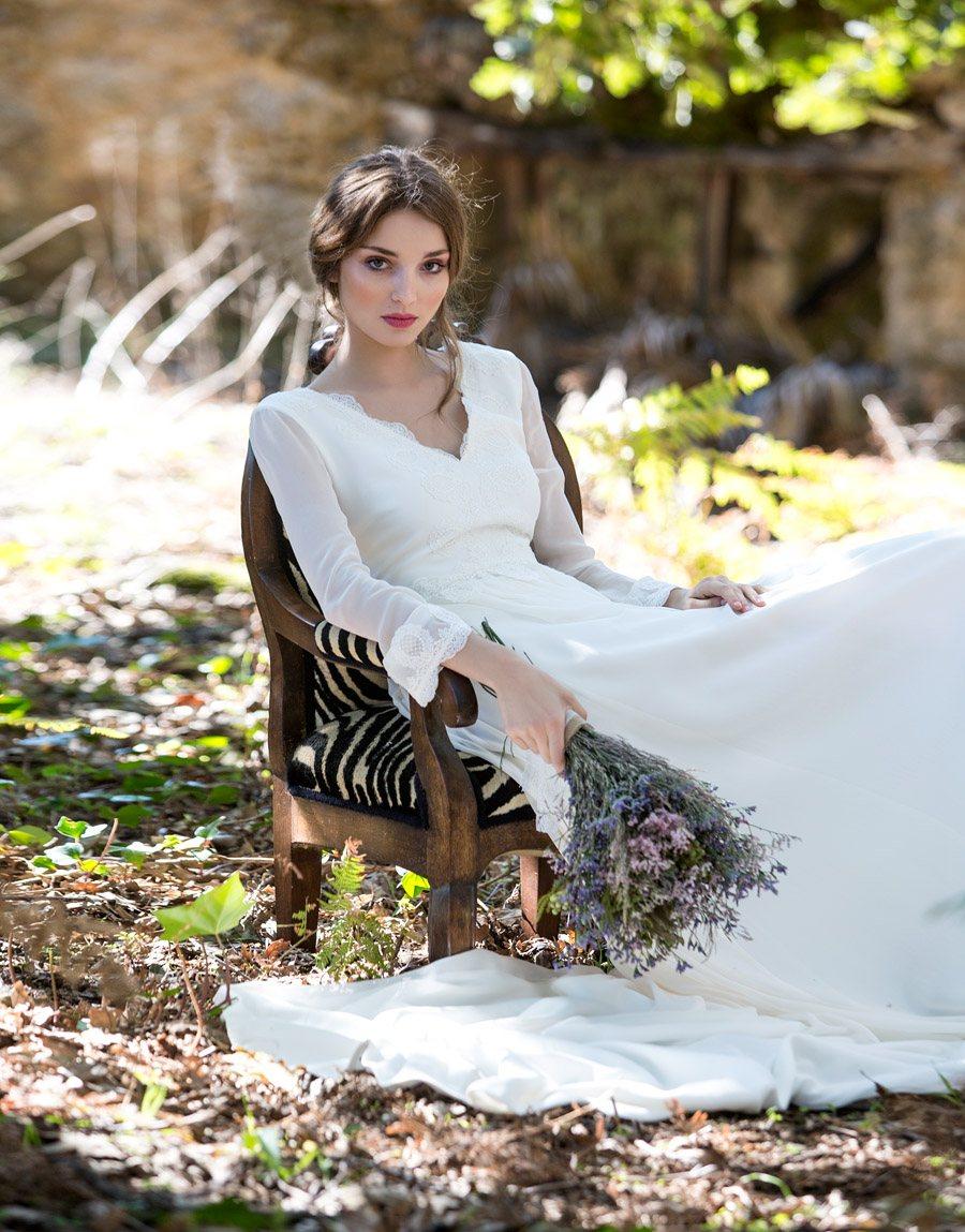 DAVID CHRISTIAN - CLOVER NOVIAS vestido-novia