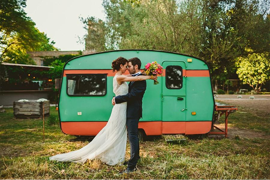 ELI & SANTI: UNA BODA MUY FAMILIAR boda-campo