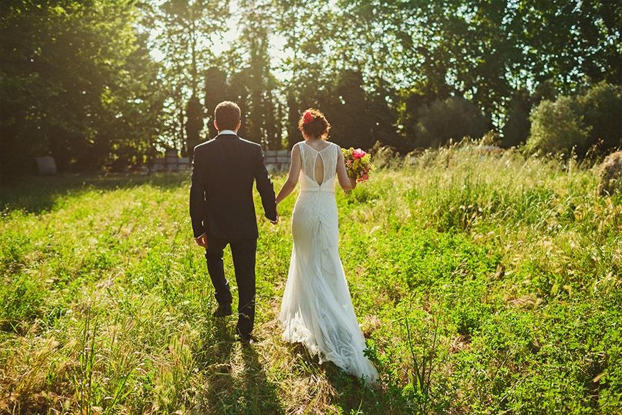 ELI & SANTI: UNA BODA MUY FAMILIAR boda-en-campo