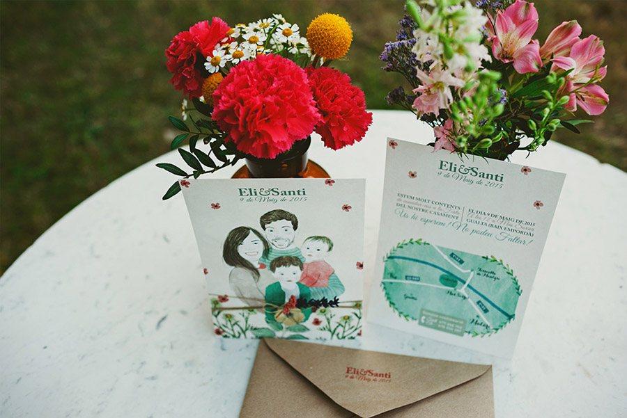 ELI & SANTI: UNA BODA MUY FAMILIAR boda-montaña