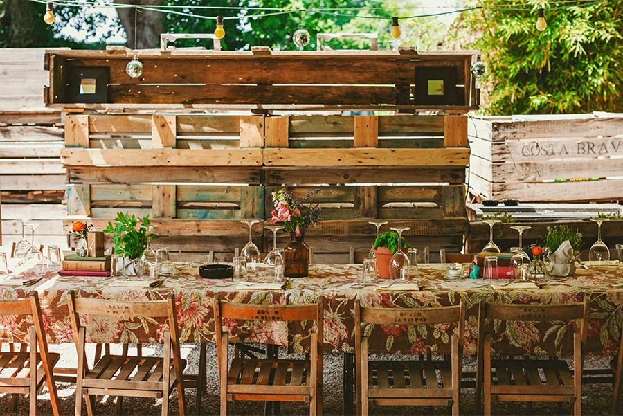 ELI & SANTI: UNA BODA MUY FAMILIAR bodas-al-aire-libre