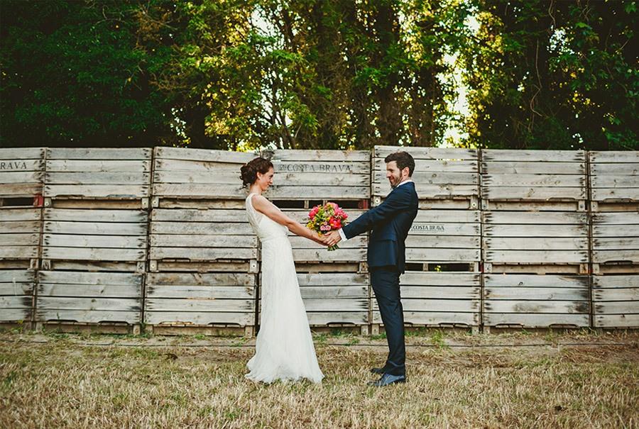 ELI & SANTI: UNA BODA MUY FAMILIAR bodas-naturales