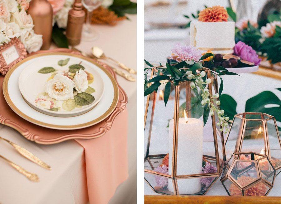 DECORACIÓN DE BODA EN BRONCE bodas-bronce